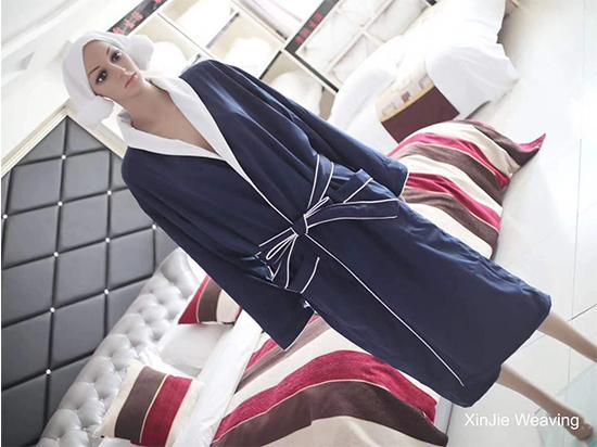 华达呢内超柔棉五星级betway必威体育下载时尚舒适浴袍
