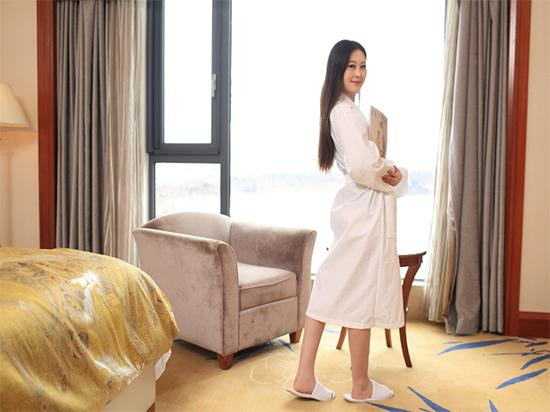 淮安毛巾厂家定制生产五星级酒店纯棉华夫格浴