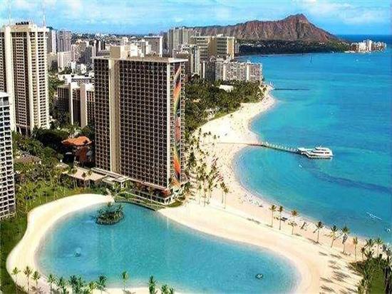 夏威夷怀基海滩希尔顿花园酒店