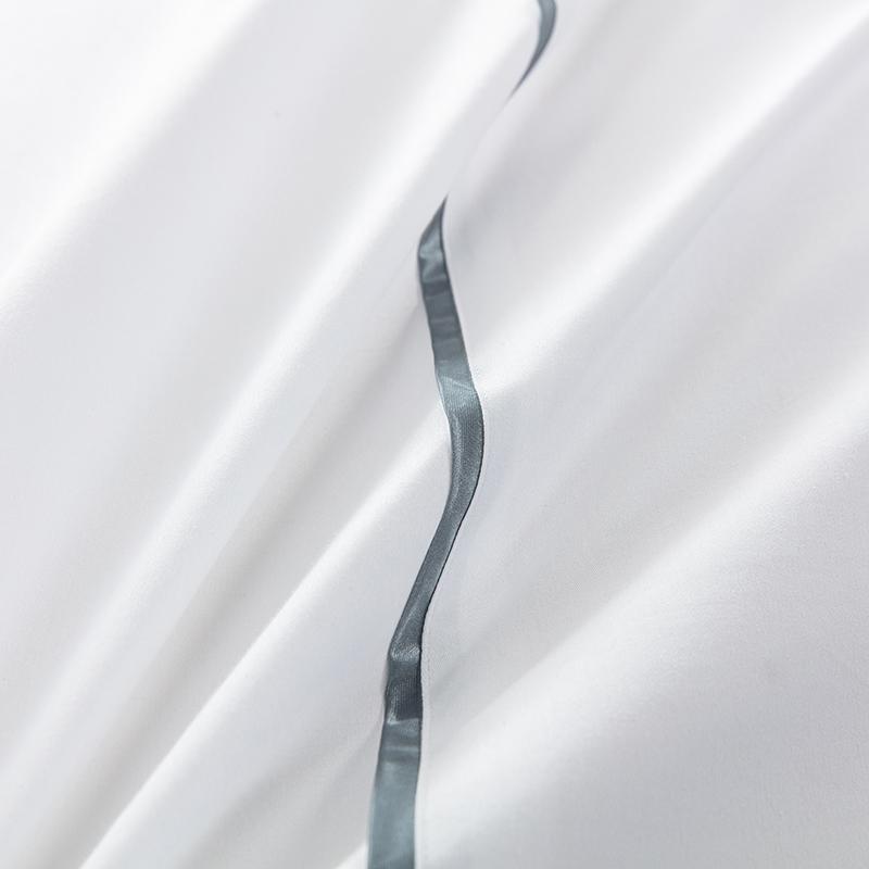 欣洁织造酒店嵌条床上用品 客服布草定制 张杨18761004708