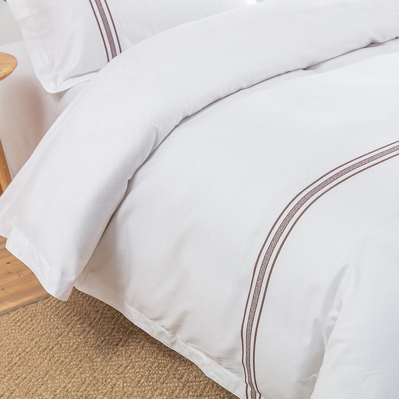 欣洁织造酒店色织床上用品 客服布草定制 张杨18761004708